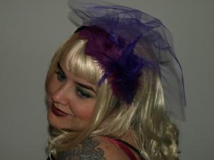 Purple passion Tragic Veil headband