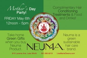 Mother's Day on Friday, May 6 at Lisa Marie Owens Salon
