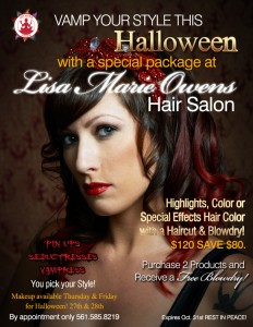 Lisa Marie Owens Halloween Hair Specials