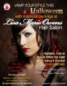 Lisa Marie Owens Halloween Hair Specials