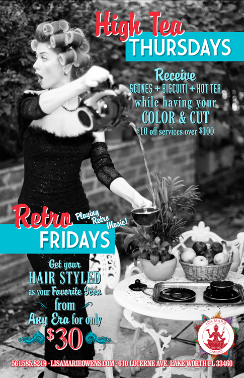 High Tea Thursdays - Retro Fridays